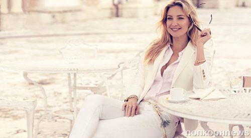 Кейт Хадсон в рекламной кампании Ann Taylor