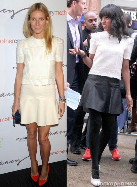 Fashion battle: Гвинет Пэлтроу и Керри Вашингтон