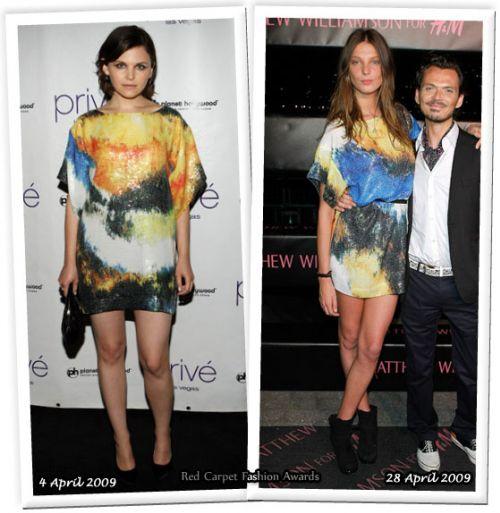 Fashion battle: Джиннифер Гудвин и Дарья Вербова