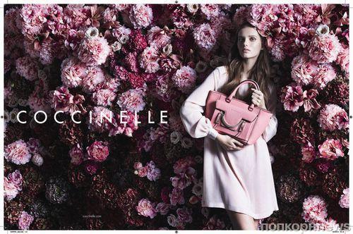 Рекламная кампания Coccinelle. Весна / лето 2014