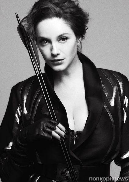 Кристина Хендрикс в журнале V. Весна 2012