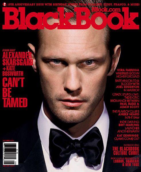 Александр Скарсгард в журнале BlackBook. Сентябрь 2011