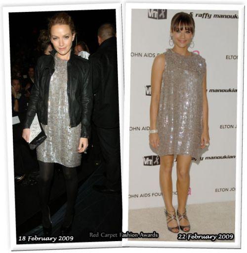 Fashion battle: Беки Ньютон и Рашида Джонс