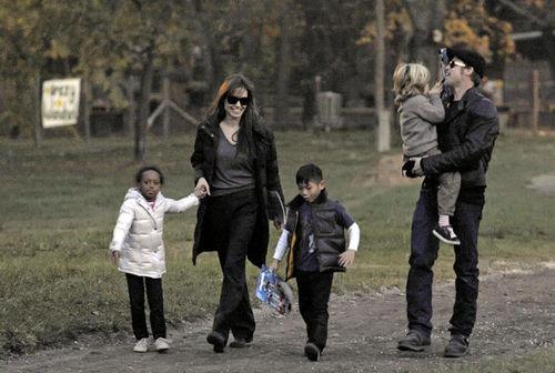 Анджелина Джоли ненавидит День Благодарения