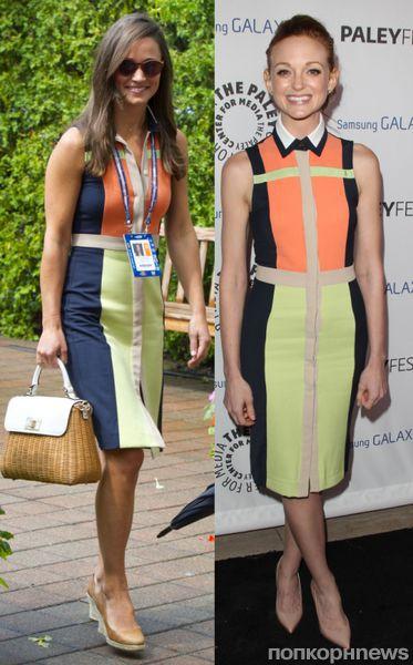 Fashion battle: Пиппа Миддлтон и Джейма Мейс