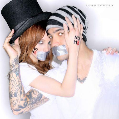 Эшли Симпсон и Пит Вентц подерживают однополые браки