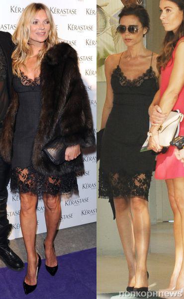 Fashion battle: Кейт Мосс и Виктория Бекхэм