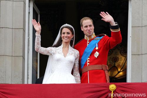 Принц Уильям и Кейт Миддлтон отмечают четвертую годовщину свадьбы