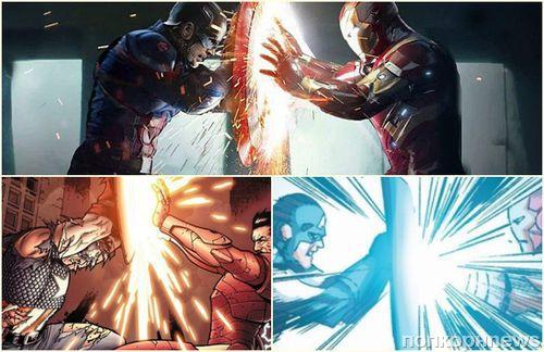 10 сцен из фильмов Marvel, в точности повторяющих комиксы