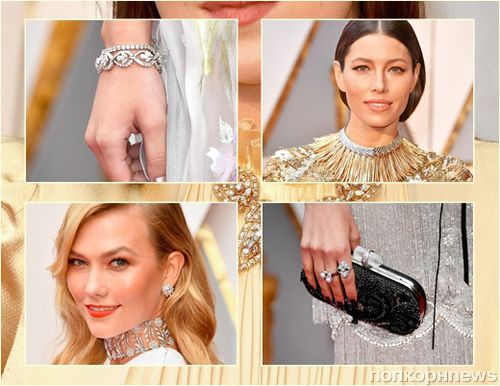Крупным планом: маникюр и украшения звезд с красной дорожки «Оскара»-2017