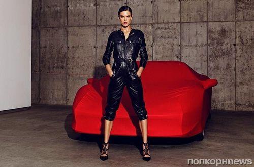 Алессандра Амбросио в рекламной кампании Tamara Mellon. Осень 2014