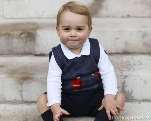 Новые фото маленького принца Джорджа