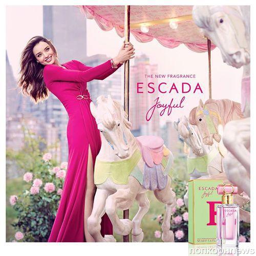 "Миранда Керр в рекламе аромата Escada ""Joyful"""