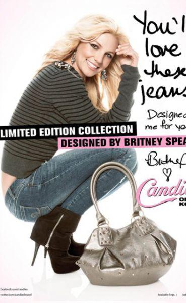 Бритни Спирс представила новую линию одежды и обуви