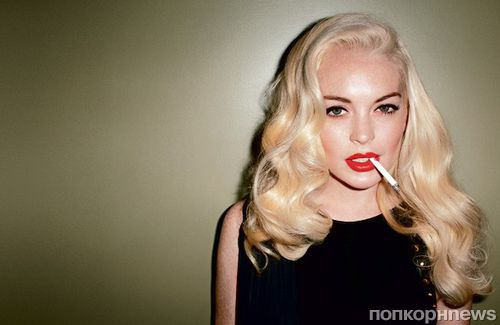 Сексуальная блондинка линдси