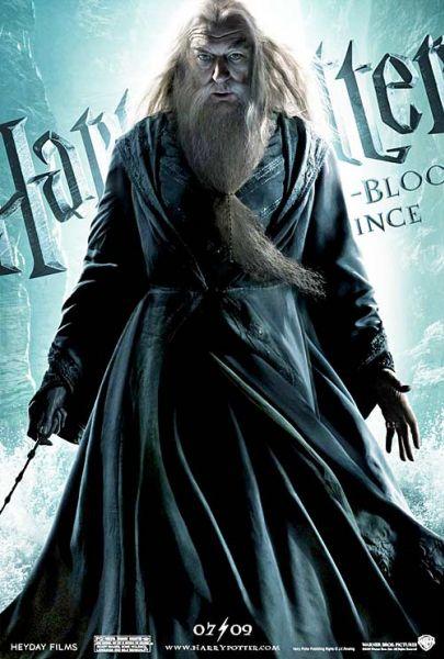 Шесть характер-постеров «Гарри Поттер и Принц-полукровка»