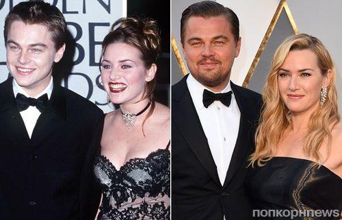 «Титаник» 20 лет спустя: Кейт Уинслет, Лео ДиКаприо и другие звезды фильма вчера и сегодня