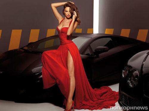 Ирина Шейк в рекламной кампании Alessandro Angelozzi Couture 2013