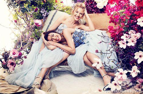 Кайли и Данни Миноуг в журнале Harper's Bazaar Австралия. Декабрь 2014