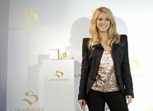 "Шакира представила новый аромат ""S"""