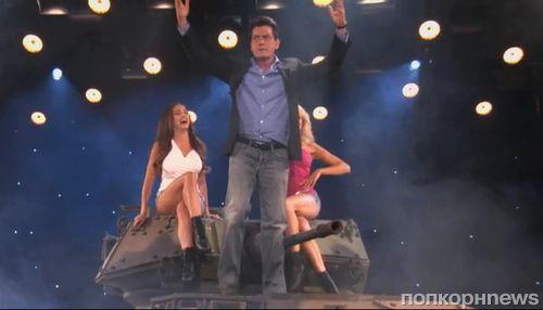 Чарли Шин на шоу Конана О'Брайана