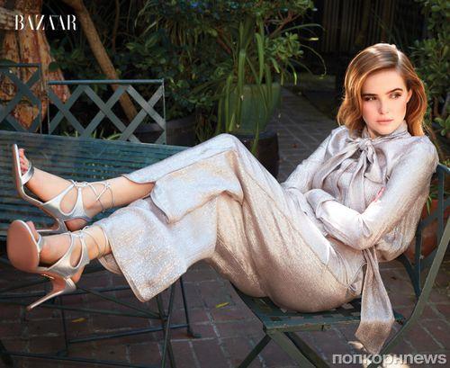 Зои Дойч в сентябрьском фотосете для Harper by Harper's Bazaar