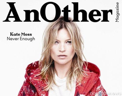 Updated: Кейт Мосс в журнале AnOther. Осень / зима 2014-2015
