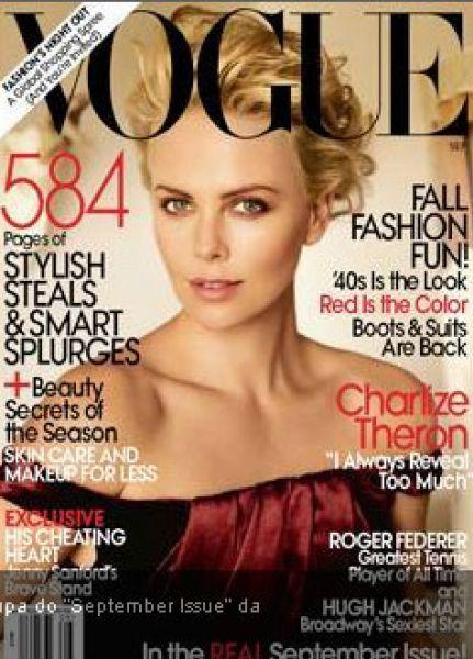 Шарлиз Терон в журнале Vogue. Сентябрь 2009
