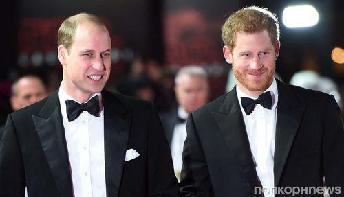 Принц Уильям станет шафером на свадьбе принца Гарри и Меган Маркл