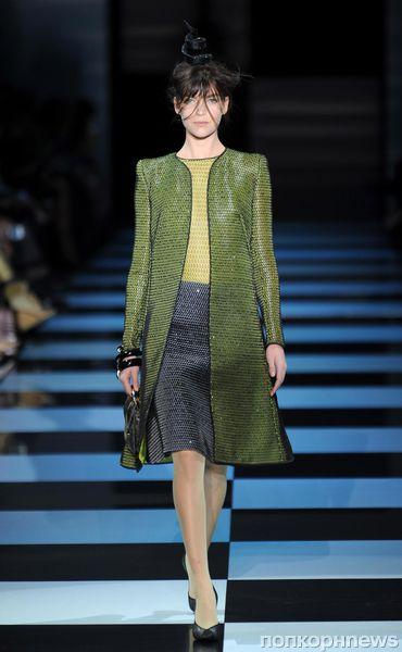 Модный показ Giorgio Armani Prive. Весна / лето 2012