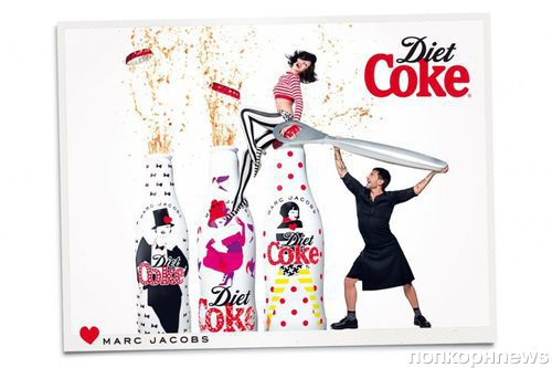 Марк Джейкобс в рекламной кампании Diet Coke