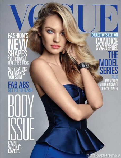 Кэндис Свейнпол в журнале Vogue Австралия. Июнь 2013