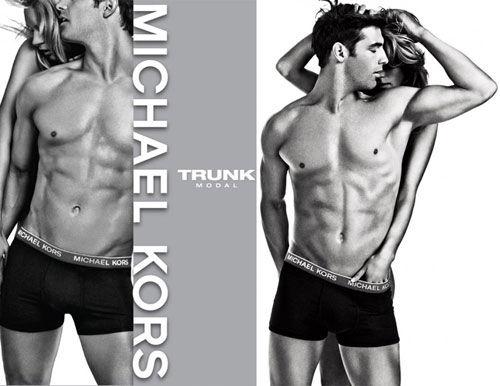 Рекламная кампания мужского нижнего белья от Michael Kors