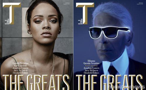 """Рианна и другие """"великие"""" на обложке специального выпуска The New York Times Style Magazine"""