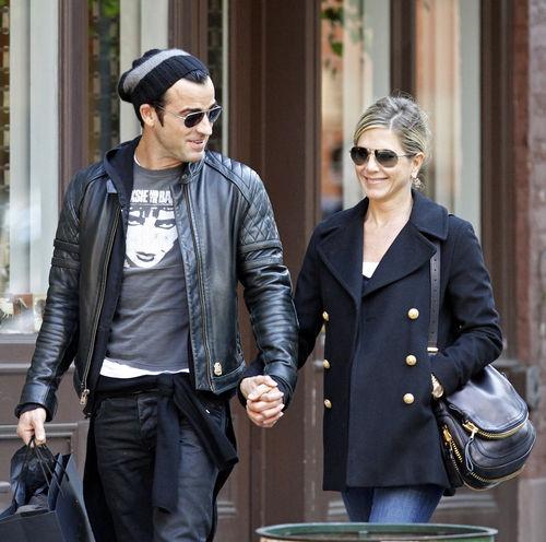 Дженнифер Энистон и Джастин Теру: прогулка по Манхэттену