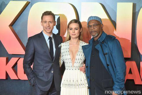 Том Хиддлстон, Бри Ларсон и другие звезды на премьере «Конг: Остров черепа» в Лондоне