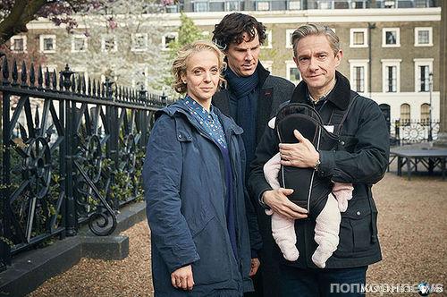 Создатели «Шерлока» показали новые кадры 4 сезона