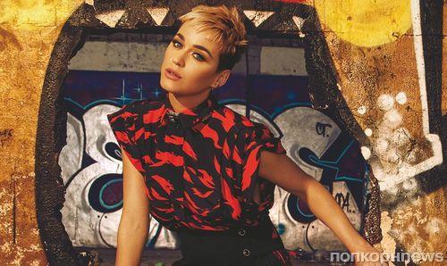 Кэти Перри в новом фотосете для Glamour
