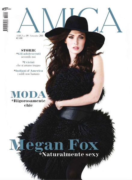 Меган Фокс в журнале Amica. Сентябрь 2011