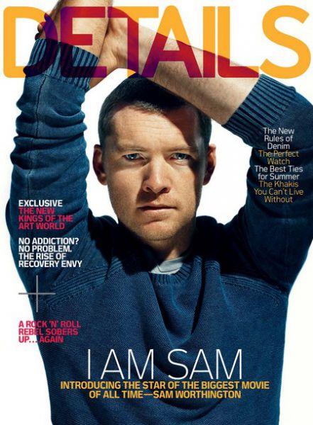 Сэм Уортингтон в журнале DETAILS. Апрель 2010