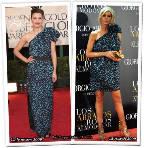 Fashion battle: Мэгги Джилленхаал и Бибиана Фернандез