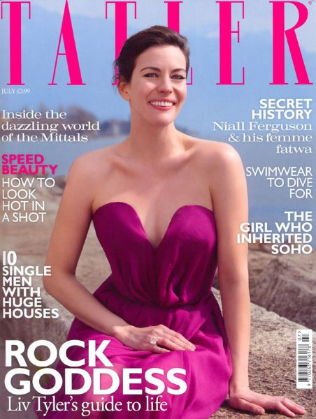 Лив Тайлер в журнале Tatler. UK