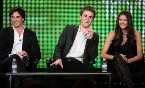"""Актеры сериала """"Дневники вампира"""" на CW TCA Panel"""