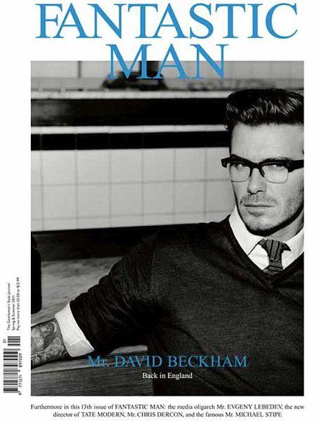 Дэвид Бэкхем в журнале Fantastic Man