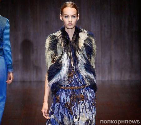 Модный показ новой коллекции Gucci. Весна / лето 2015