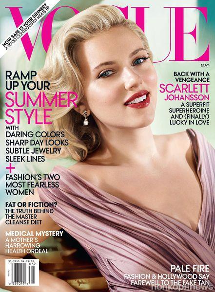 Скарлетт Йоханссон в журнале Vogue. Май 2012