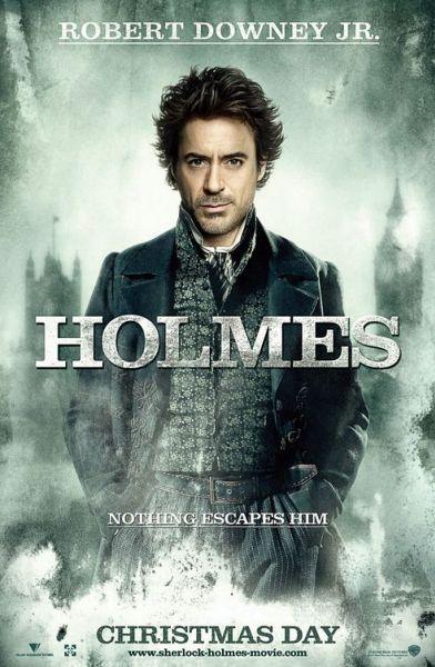 Новые постеры фильма «Шерлок Холмс»