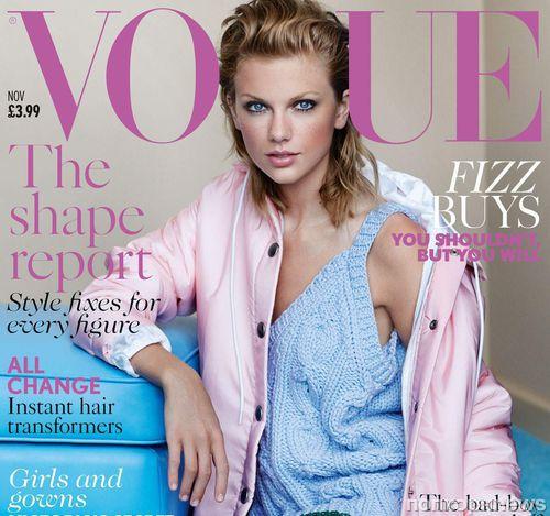 Тейлор Свифт в журналах Vogue Великобритания и Nashville Lifestyles. Ноябрь 2014
