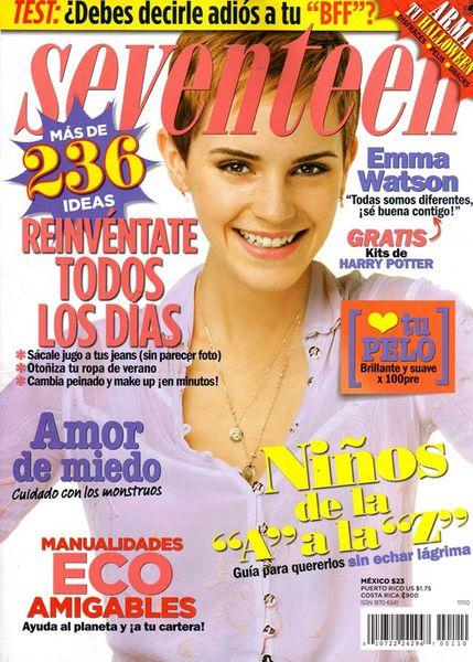 Эмма Уотсон в журнале Seventeen. Мексика