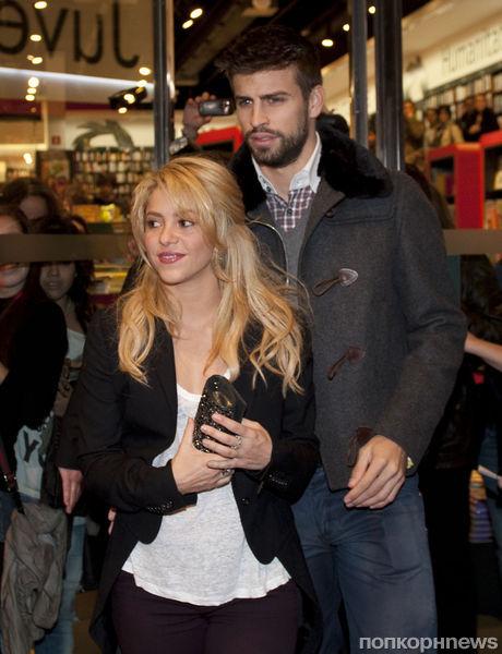 Шакира и Жерар Пике в Барселоне